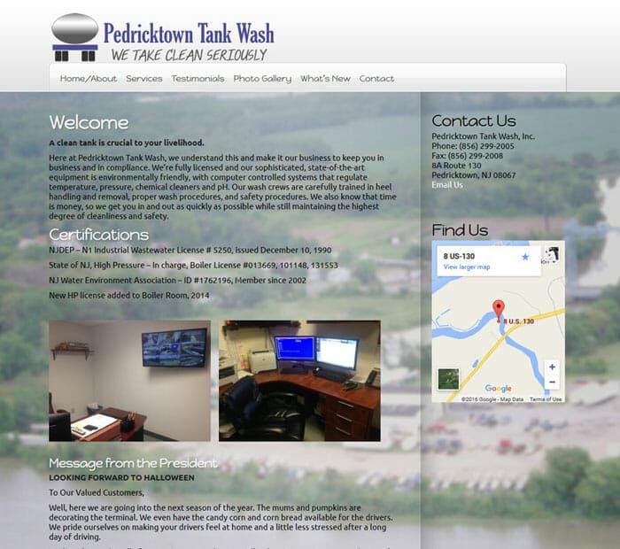 Pedricktown Tank Wash