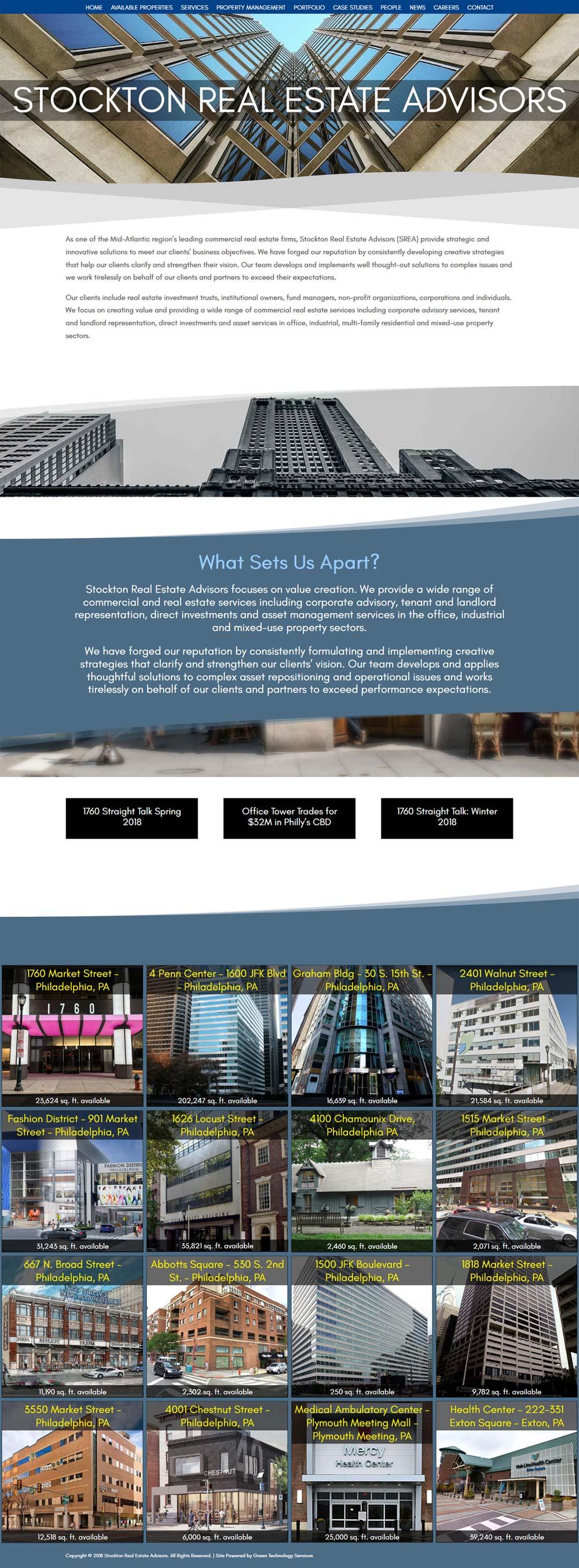 Stockton Real Estate Advisors 1 - Commercial Real Estate Firm