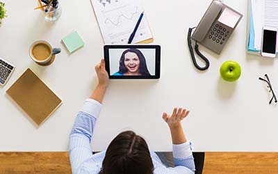 Using Video Chat to Help with the Loneliness of Social Distancing or Working from Home